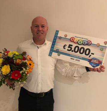 WSV ontvangt € 5000,- van de Vriendenloterij !