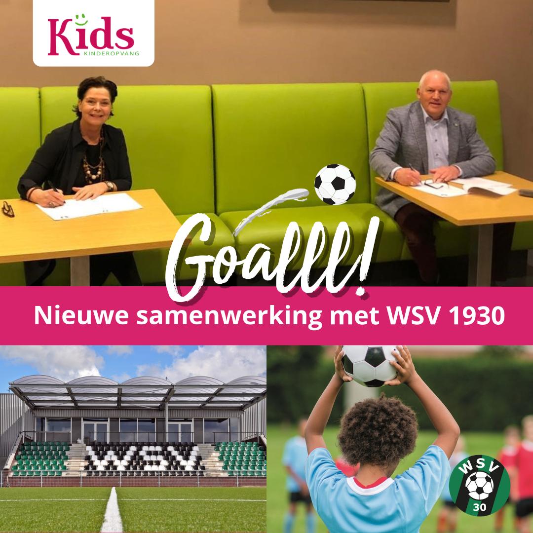 Kids Kinderopvang opent eerste Sport BSO bij WSV 1930 in Wormer