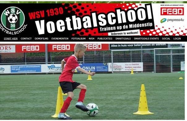 WSV 1930 Voetbalschool: steun je club en Leer meer leuke kanten van voetbal kennen!